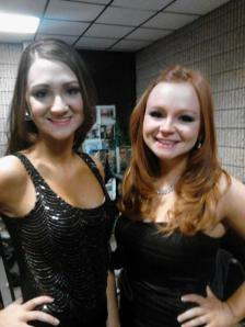 Lauren and me, opening number