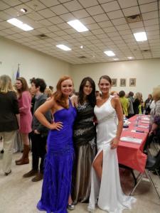 Lauren, Adrienne and me