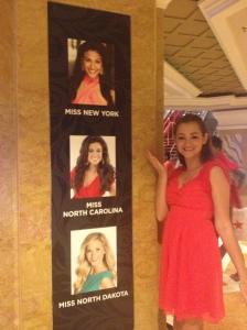Obligatory Photo with Nina's Photo!