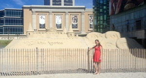 The Miss America Sand Castle