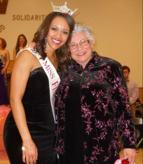 Desiree, Miss Finger Lakes 2014 and Diane, Miss Finger Lakes 1968
