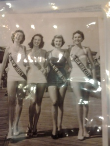 Miss New Jersey, Miss America 1953, Miss New York State, and Miss New York City