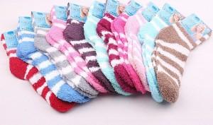 New-WOMENS-Girl-Winter-Soft-WARM-font-b-Fuzzy-b-font-font-b-Socks-b-font