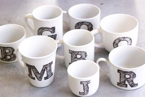 Sharpie-Initial-Mug